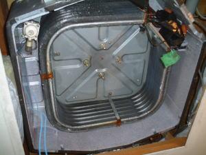 エアコンクリーニング放熱板洗浄作業完了