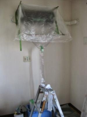 壁 天井 電装養生