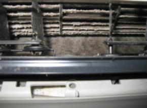 エアコンクリーニング洗浄前