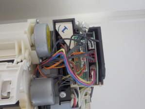 シャープ基盤接続コネクター部分